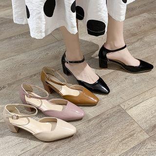 Yuki Yoru - Block Heel Sandals