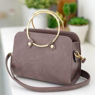 BOLIYASHI - Hoop-Accent Handtasche