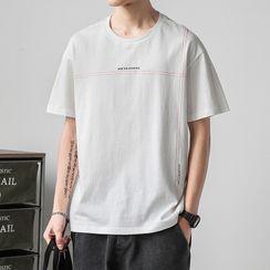 PEPP - Short-Sleeve Lettering T-Shirt