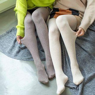 Fluff Muff - 純色貼身褲/踩腳貼身褲