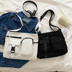 sunsquared - 饰口袋斜挎包