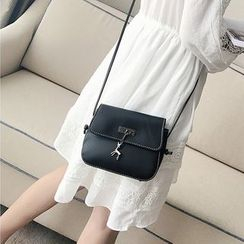 BAGuette - Faux Leather Crossbody Bag