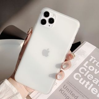 kloudkase - Frosted Phone Case - iPhone 12 Pro Max / 12 Pro / 12 / 12 mini / 11 Pro Max / 11 Pro / 11 / SE / XS Max / XS / XR / X / SE 2 / 8 / 8 Plus / 7 / 7 Plus / 6 / 6 Plus