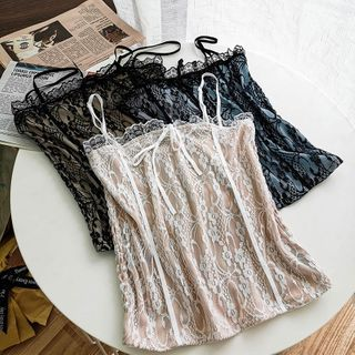 Miss Puff - Lace Camisole Top