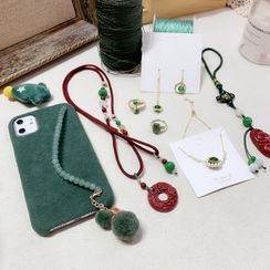 SOCLOSE - 布藝髪圈 / 髮夾 / 項鍊 / 耳環 / 指環