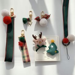 SOCLOSE - Christmas Mobile Hand Strap / Hanging Decoration