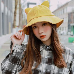 LANWO - Cat Ear Bucket Hat