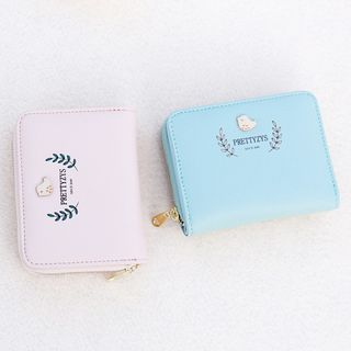 bellflowers - Printed Stitched Wallet