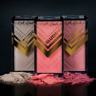 L.A. Girl Cosmetics - Just Blushing Powder Blush (16 Colors)