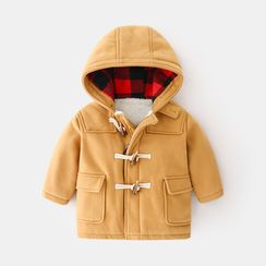 Seashells Kids - Kids Hooded Toggle Coat