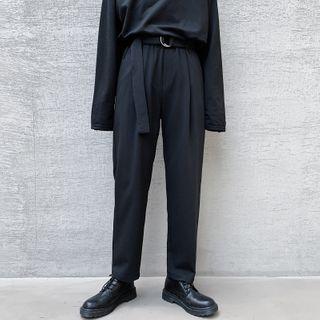 Bjorn - Straight-Fit Dress Pants