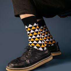 Guliga - Couple Matching Pattern Socks