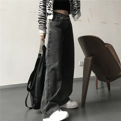 INStudio(インスタジオ) - Wide Leg Jeans