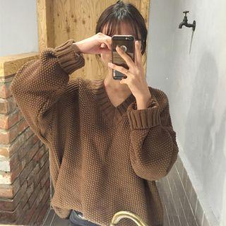 Shopherd - Pullover mit Waffelstrick