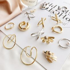 Mimishi - Alloy Cuff Earring (various designs)