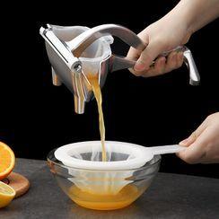 Home Simply(ホームシンプリー) - Stainless Steel Citrus Juicer / Garlic Press