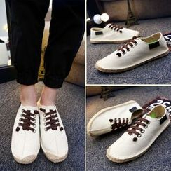 MARTUCCI - 麻底帆布鞋