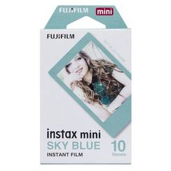 Fujifilm - Fujifilm Instax Mini Film (Blue Frame) (10 Sheets per Pack)