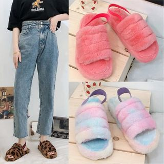Weiya - Furry Home Slippers