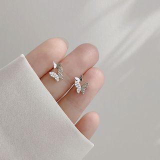 Hansha(ハンシャ) - Butterfly Sterling Silver Earring