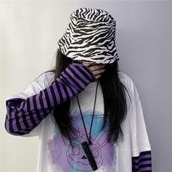 Giuliana - Zebra Print Bucket Hat