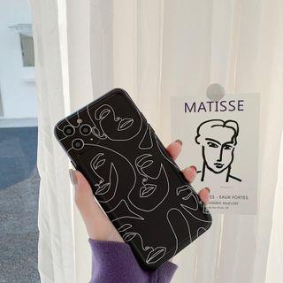 Vachie - Printed Phone Case - iPhone 11 Pro Max / 11 Pro / 11 / XS Max / XS / XR / X / 8 / 8 Plus / 7 / 7 Plus / 6s / 6s Plus