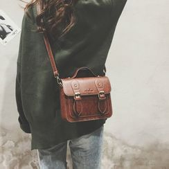 Beebird(ビーバード)  - Faux Leather Crossbody Satchel
