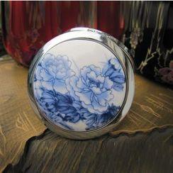 Townlet - 碎花陶瓷手持镜子