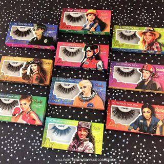 RUDE - Luxe 3D Premium Faux Mink Lashes (5 Types)