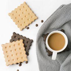 Cute Essentials - Biscuits Wooden Coaster