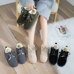 Musva - Platform Short Snow Boots