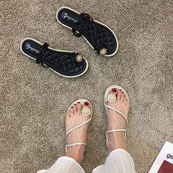 Frivole - Toe-Ring Slide Sandals