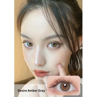 i - DOL - Desire Yearly Color Lens #Amber Gray