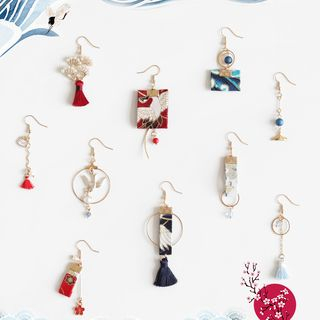 Phooka - Asymmetrical Drop Earring (Various Designs)