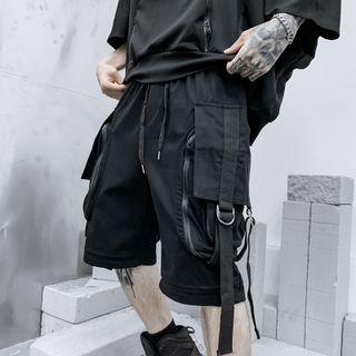 Andrei - 寬腿工裝短褲