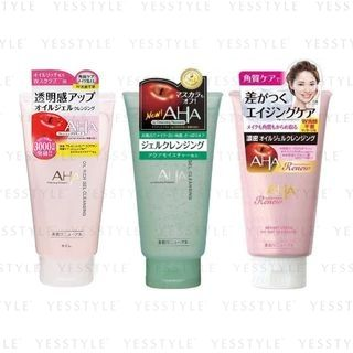 BCL - AHA Gel Cleansing 145g - 3 Types