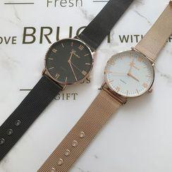 Orario - 羅馬數字米蘭手鏈手錶