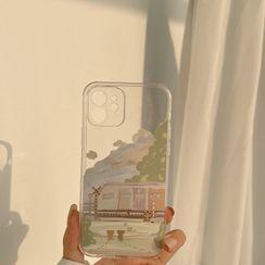 kloudkase - Print Transparent Phone Case - iPhone 12 Pro Max / 12 Pro / 12 / 12 mini / 11 Pro Max / 11 Pro / 11 / SE / XS Max / XS / XR / X / SE 2 / 8 / 8 Plus / 7 / 7 Plus