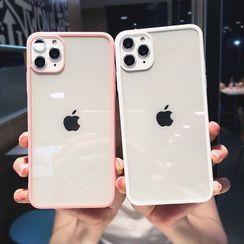 Xianto - Gold Leaf Bear Transparent Phone Case - iPhone 12 Pro Max / 12 Pro / 12 / 12 mini / 11 Pro Max / 11 Pro / 11 / SE / XS Max / XS / XR / X / SE 2 / 8 / 8 Plus / 7 / 7 Plus