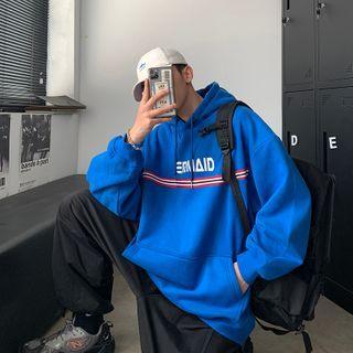 SHIN Shop - 情侣款字母连帽衫