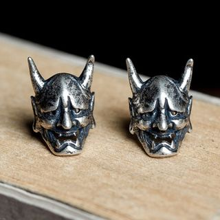 Andante - 925 Sterling Silver Devil Earring