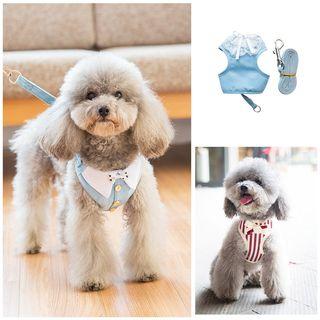 hipidog - Pet Harness Vest and Leash Set
