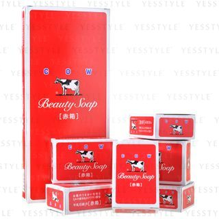 Cow Brand Soap - Beauty Soap 100g x 6