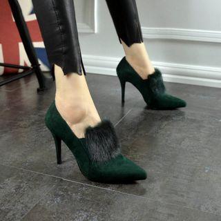 NinetoZero - High Heel Pointy Ankle Boots