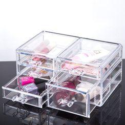 Gelipso - Transparent Drawer Desk Organizer