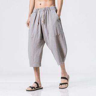 YIKES(ヤイクス) - Cropped Drawstring Pants