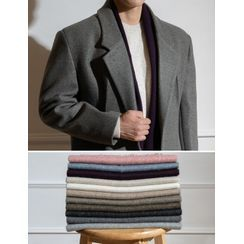 STYLEMAN - Fringed Woolen Muffler Scarf in 17 colors