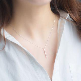 A'ROCH - 925純銀穿針耳環純銀項鍊