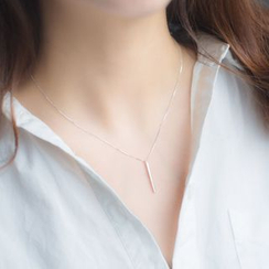 A'ROCH - 925纯银穿针耳环纯银项链