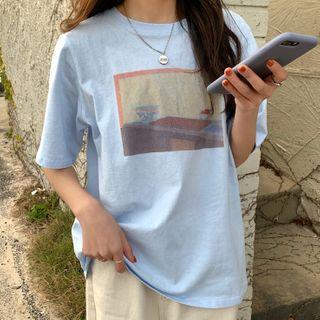 CEYX - 印花短袖T裇